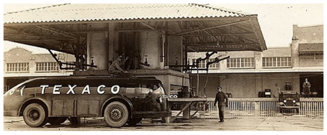 The origin of the streamlined tankers - the Texaco Doodlebug