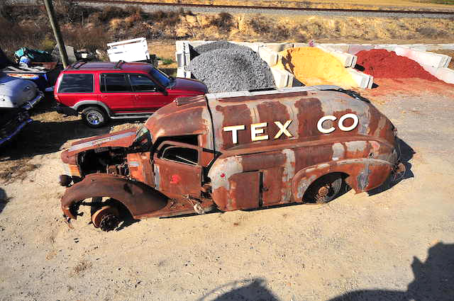 Discovering the 1938 Texaco tanker's history - Project: Texaco Tanker